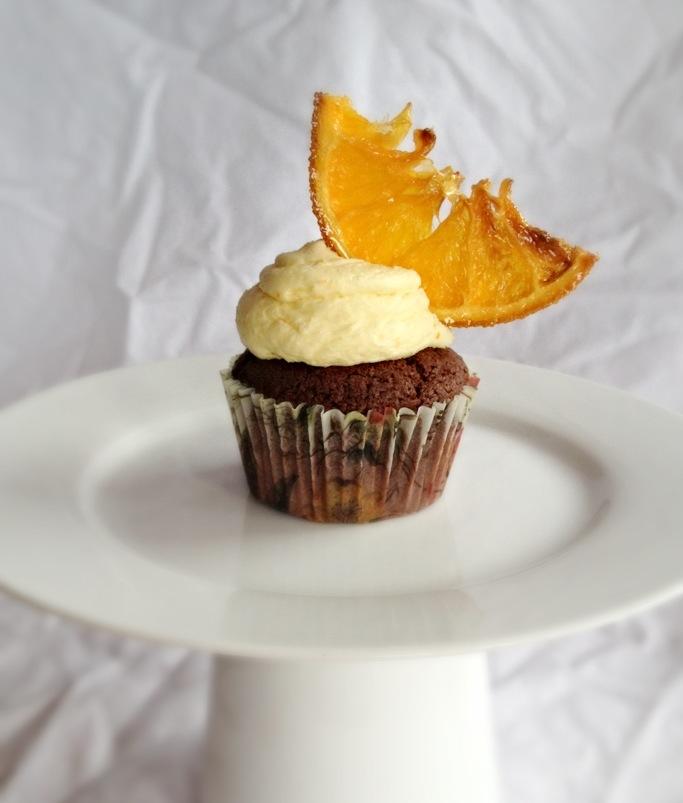 Chocolate & Orange cupcakes