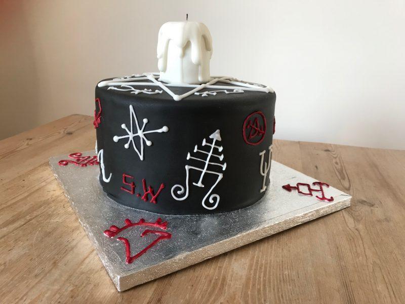 gothic novelty cake