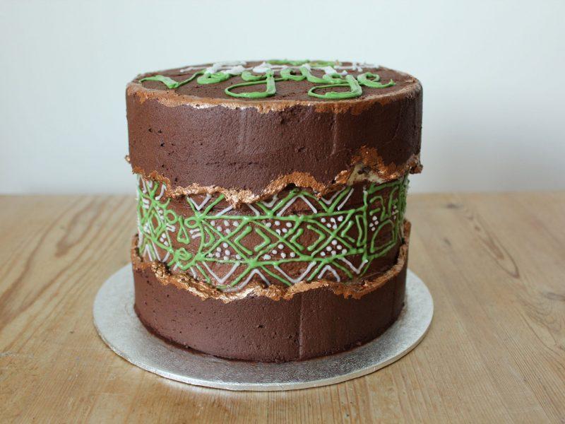 dairy free celebration cake