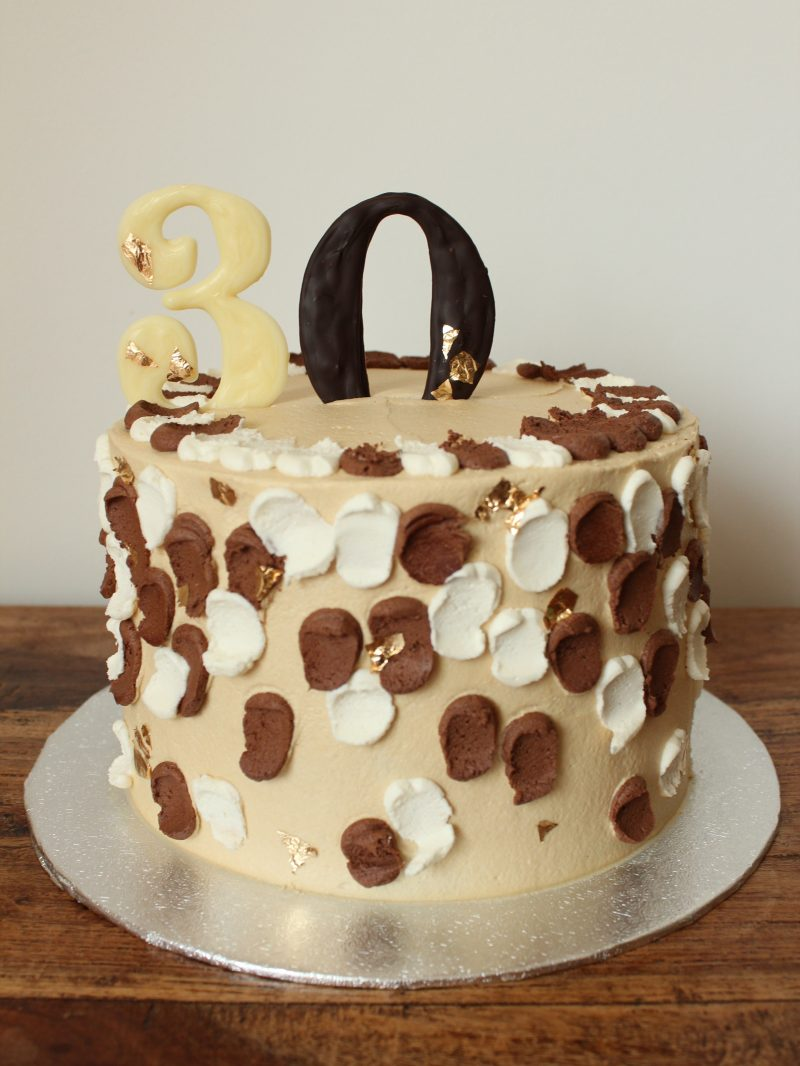 vegan mocha cake